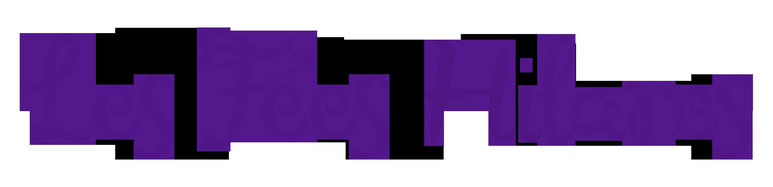 logo fees hilares violet